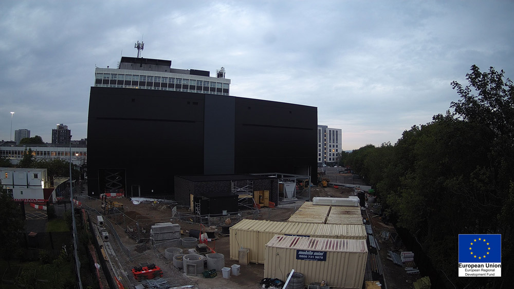 Image of the external of Energy House 2.0, University of Salford