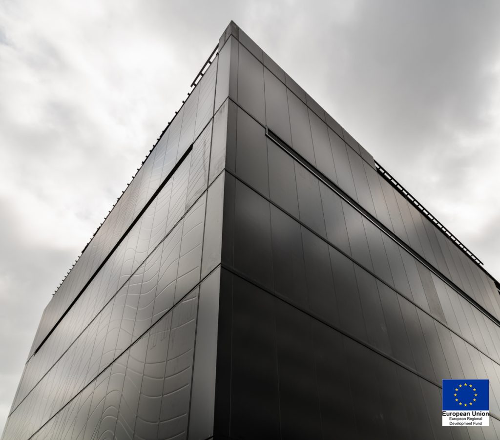 Exterior of Energy House 2.0, University of Salford. Courtesy of McCoy Wynne